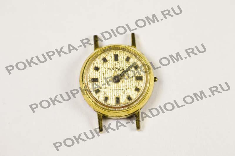 Золотые женские часы чайка каталог ссср